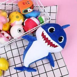 Cartoon PinkFong Plush Fox Sharks Dolls Children Baby Animal