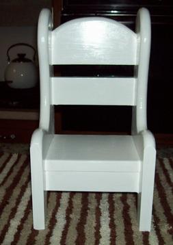Chair for American Girl doll classic Hump back handmade soli