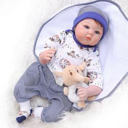 cheap Silicone Vinyl Likelife blue eyes Baby doll 22' lifeli