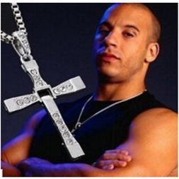 CHEAP Silver Cross Chain Necklace GIFT for Men UNDER 5 DOLLA