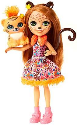 Enchantimals Cherish Cheetah Doll & Quick-Quick