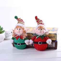 Christmas Decorations Cloth Cute Elf Christmas Ornaments Dol