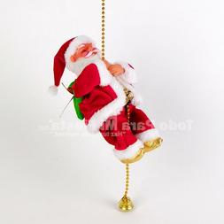 Christmas Santa Claus Doll Toy Christmas Hanging Ornaments D