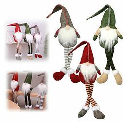 Christmas Santa Cloth Doll Claus Toy Table Ornaments Xmas Ho