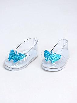 "Cinderella's Glass Slippers for 18"" Dolls"