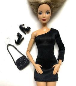 Classic Little Black Dress Shoes Purse Night Fashion Pack Fo
