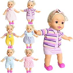 BOBO clothes Set of 6 For 12-14-16 Inch Alive Lovely Baby Do