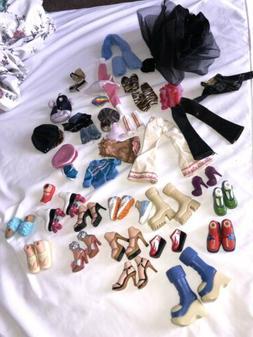 Bratz Clothes , Shoes, And Dolls Lot