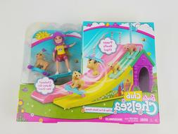 Barbie Club Chelsea Flips & Fun Skate Ramp Playset