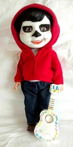 "Coco Miguel Rivera 15"" Doll Disney Pixar Day Of The Dead Plu"