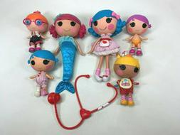 Collection Lot of  Lalaloopsy 2 Full Size & 4 Little Sister