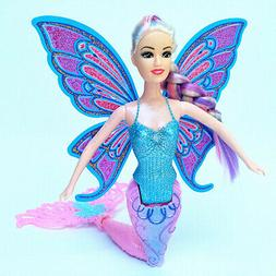 Colorful Flying Fairy Dolls with Wings Movable Princess Kids