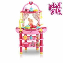 Baby Alive Cook N Care 3-in-1 Kitchen Doll Set