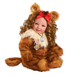 """Adora Cowardly Lion The Wizard of OZ 20"""" Baby Doll, 75th Ann"""