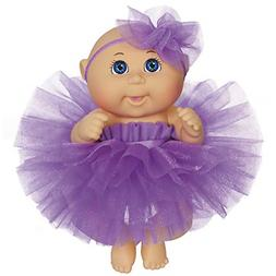 "CPK 9"" Dance Time Girl, Blue Eyes, Purple Tutu"