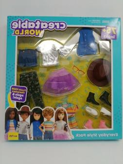 Mattel Creatable World Everyday Style Pack Clothes and Acces