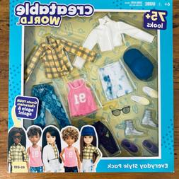 Mattel Creatable World Everyday Style Pack Doll Clothes & Ac