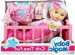 Baby Magic Crib Time Fun Playset