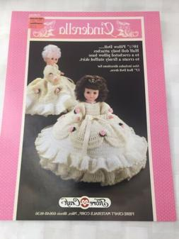 Crochet A Cinderella Doll Costume For 10 1/2 And 13 Inch Dol