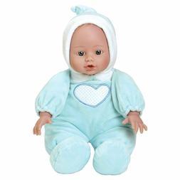 """Adora Cuddle Baby Doll Blue 13"""" Boy Weighted Cuddly Washable"""