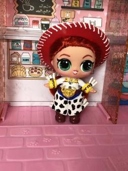 CUSTOM Made Lol Surprise COWGIRL JESSIE Lol Doll