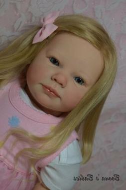 CUSTOM ORDER Reborn Doll Toddler Baby Girl Chloe By Ann Timm