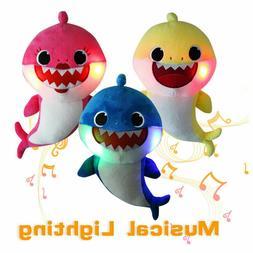 Cute Cretive Family Baby Shark Fox Toys Plush Soft Dolls Stu