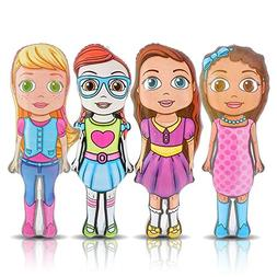 """Cutie Inflatable Doll Set by ArtCreativity    36"""" Tall Inf"""