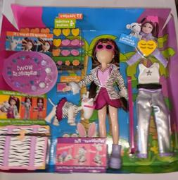 DAMAGED box / Open Mattel What's Her Face Fashion Activity D