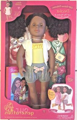 OUR GENERATION DEDRA DELUXE DOLL  3+  NEW