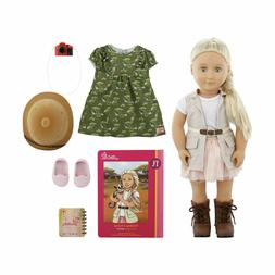 "Our Generation Deluxe Naya Doll 46cm 18"" Safari Adventure Bi"