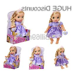 Disney Princess Deluxe Baby Rapunzel Doll with Pacifier Baby