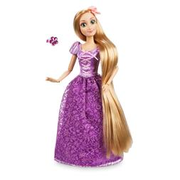 Disney Authentic Rapunzel Figure w/ Ring Classic Poseable To