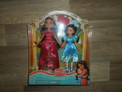 Disney Elena of Avalor and Princess Isabel Dolls Hasbro 2 Pa