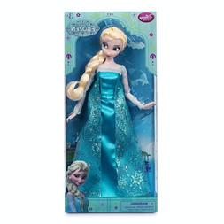 "Frozen Disney Exclusive 12"" Elsa Classic Doll--Authentic Dis"