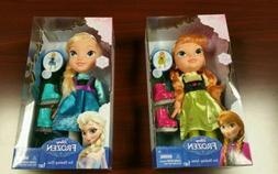 DISNEY FROZEN TODDLER ICE SKATING DOLLS SET OF 2 - ELSA & AN