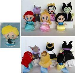 "Sega DISNEY Princess 6"" PLUSH DOLL Maleficent Ariel Ursula C"