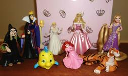 Disney Princess Little Figure Doll Cake Topper Lot