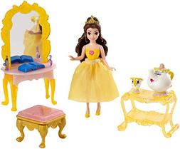 Disney Princess Little Kingdom Belle Doll and Furniture Play