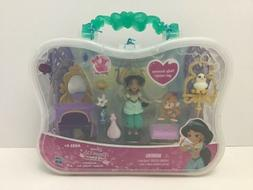 Disney Princess Little Kingdom JASMINE'S GOLDEN VANITY Set S