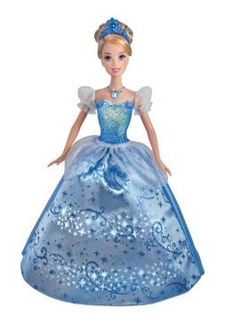 Mattel Disney Princess Swirling Lights Cinderella Doll