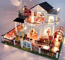 DIY Handcraft Miniature Project Wooden Dolls House My Little