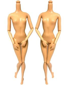 """DIY OOAK Two Replacement Doll Body Natural """"B"""" Classic #"""
