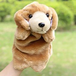 Dog Dolls Cute Animal Hand Glove Puppy Puppets Plush Toys Pr