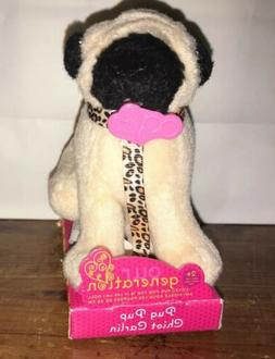 """OUR GENERATION Dog Mini Pug PUP & LEASH Loyal Puppy for 18"""""""