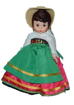 "Madame Alexander ""Italy"" Doll #553"