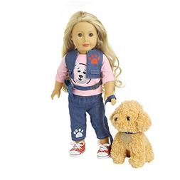 Rucan Doll Clothes, Jeans Clothes & Pants Clothes For 18 inc