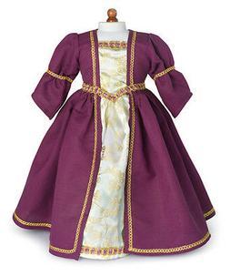 """Doll Clothes 18"""" Dress Renaissance Purple Carpatina Fits Ame"""