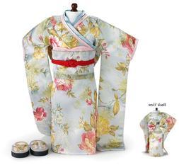 "Doll Clothes 18"" Kimono Sun Blossom by Carpatina Fits Americ"