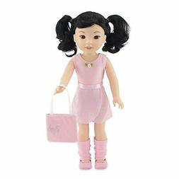 Emily Rose 14 Inch Doll Clothes   Doll Ballerina Ballet Prac